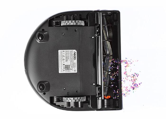robot aspirateur qui nettoye les coins