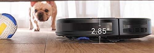 aspirateur robot fin qui passe sous les meubles